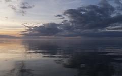 Baltic Sea (peter_hasselbom) Tags: djauvik djupvik gotland balticsea baltic landscape sea sky clouds coast coastline sunset settingsun calmsea calm 3exposurehdr hdr fujifilm