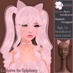 [^.^Ayashi^.^] Sienna special item for The Epiphany (Ikira Frimon) Tags: accessory headbands rim sienna theepiphany siennaspecialitemfortheepiphany specialitem item pearls gem bezelwithpearls rigged hud anime m3 utilizator nice head mesh ayashi doll outfit hair blogger costume frimon ikira follow post blog fashion sl life second event girl beautifully special exclusive tsg kawaii kawai cute hairs sensuality lovely sexually cosplay gacha