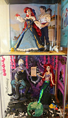 ** Disney Fairytale Designer Collection Display: The Little Mermaid ** (NєωSαℓємWσℓƒ ♛) Tags: fairytale disney store designer collection diusplay dolls ariel eric ursula sebastian flounder little mermaid beauty beast castle sea witch gaston villains heroes couples dioramas book belle bella adam lumiere potts chip ding dong