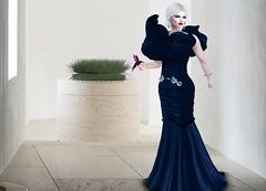 Mila Blauvelt (Mila Blauvelt) Tags: milablauvelt giuliadesign gown dress pandora womenfashion woman girl blogger blog beautygirl secondlife sl style shopping fashion femaleclothing glamour glamouroso femalevear pose bodymesh