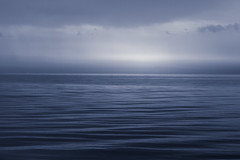 halfway to h... (Smo_Q) Tags: balticsea poland pentaxk3ii emptiness end blue