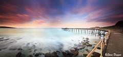 0S1A5385 (Steve Daggar) Tags: catherinehillbay sunset seascape landscape nswcentralcoast gosford wharf jetty panorama longexposure