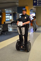 Police on the move (radargeek) Tags: dfw airport dallas fortworth tx texas police segway