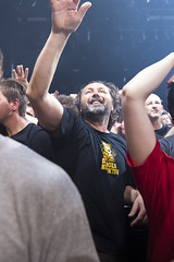 Amsterdam, The Netherlands  -16 April 2017: concert of Bosnian rock music band Dubioza Kolektiv at venue Melkweg -37 (CloudMineAmsterdam) Tags: dubiozakolektivmelkwegamsterdam amsterdam artists band concert concertlights crowd editorial electricguitar entertainment europe event gathering rock dub leisure lights loud music musician netherlands holland party people performance show singer vocals cheering audience happysmile fun hiphopreggae fan public