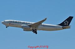 Airbus A330-243 B-6091 Air China (EI-DTG) Tags: sydney australia airbus syd a330 sydneyairport planespotting staralliance airchina airbus330 aircraftspotting b6091 09oct2013