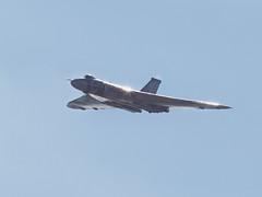 Vulcan at RAF Marham (Wookiewookie571) Tags: canon military 85mm vulcan raf flypast marham
