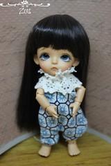 Zou (Loofthewood) Tags: white beauty doll tan mini pot tiny belle beast bjd latidoll lati dollwig