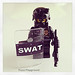 LEGO Combat Swat Assualt 2 Minifigurine Custom Made