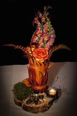 Fire Flowers by Golden Gate Studios (Photo by Jen Bonin)
