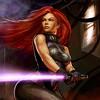 "One of the most badass women in the galaxy. #MaraJade #DarkEmpire #Darkside #StarWars #dfatowel • <a style=""font-size:0.8em;"" href=""http://www.flickr.com/photos/125867766@N07/15226404009/"" target=""_blank"">View on Flickr</a>"