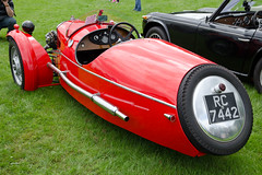 Morgan 3 Wheel Sports (1939) (SG2012) Tags: auto classiccar automobile oldtimer morgan oldcar autodepoca motorcar carphoto carpicture cocheclasico voitureclassique carphotograph carimage 29062014 burnleyclassiccarshow rc7442
