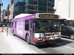 CTA 807 (TheTransitCamera) Tags: new chicago public illinois flyer cta authority system transportation transit service de40lf newflyerindustries cta0807