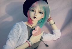 Valentine (zinery) Tags: summer senior ball asian doll head valentine event bjd luts delf sdf abjd jointed summery 2013 lutsdoll