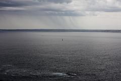 Crozon, Bretagne (ClaraKauffmann) Tags: ocean sea cloud mer rain boat ship rando pluie bretagne hike sail nuage bateau voile crozon