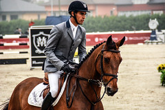 Manuel An riding Baldo DS (yasminabelloargibay) Tags: horse caballo cheval bay mare cavalier cavallo cavalo pferd equestrian stallion equine csi hest paard showjumping hpica horserider gelding showjumper equestrianism equitacion hipismo manuelaon manuelanon