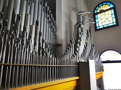 Padova, Chiesa della Sacra Famiglia. L'Organaria / Scarparo (Ivan Furlanis) Tags: pipe organ organo orgel canne orgue tuyaux pfeifen