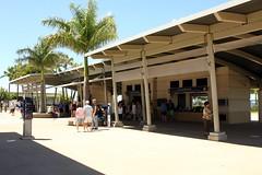 Welcome Center (Prayitno / Thank you for (11 millions +) views) Tags: window museum booth island hawaii site display oahu ticket landmark exhibit exhibition historic hi honolulu hnl admission shocase konomark