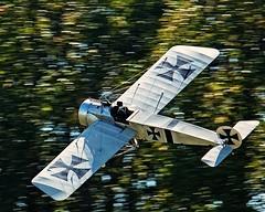 Fokker Eindecker (DASEye) Tags: plane virginia model aircraft wwi airshow german virginiabeach militaryaviation fokker dayseye eindecker davidadamson militaryaviationmuseum airshowvirginiabeach virginiabeachairshow