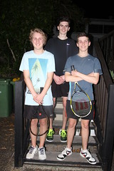 Tuesday night comp winners August 2014 - Oscar, Brayden and Henri     IMG_9924
