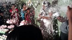 awesome birthday party (Tara_Wilfred) Tags: birthday friends party snow cake dance best spray foam 20 nayantara jeyaraj lfred