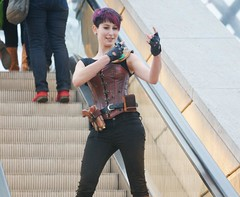 2014-03-15 S9 JB 73953#coht30s30 (cosplay shooter) Tags: x201611 400x kaylean airay id084569 id532562 cosplay cosplayer anime manga comic comics lbm leipzig leipzigerbuchmesse roleplay rollenspiel 2014090 2014091 201431 steampunk lene ina