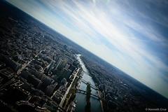 my kryptonite (kneth) Tags: sky paris france tower skyline clouds buildings river nikon cityscape view top eiffel 2014 sommet d3200 sommettoureiffel