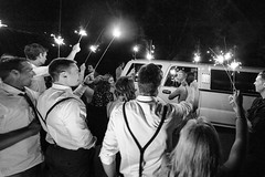 Goodbye party... hello honeymoon. (Russ Beinder) Tags: wedding 2 party bw candid limo sparklers geocity 1424mmf28 camera:make=nikoncorporation camera:model=nikond700 exif:make=nikoncorporation exif:model=nikond700 geostate geocountrys exif:lens=140240mmf28 exif:aperture=ƒ28 exif:isospeed=3200 exif:focallength=14mm 2014090600972