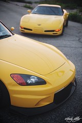 Yellow Cars (andy.carter) Tags: corvette s2k s2000 macon stance ccw fitment downtownmacon canibeat