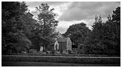 St Giles , Bowes . (wayman2011) Tags: trees architecture graveyards churches oldbuildings fujifilm pennines bowes countydurham teesdale bwlandscapes fujifilmx100