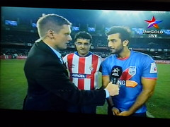Football Hero Indian Super League 005 (kiranparmar1) Tags: india game football time indian first super screen hero mumbai league score30 kokota