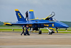 US Navy Blue Angels F/A-18A No.5 (RedRipper24) Tags: blueangels fa18hornet fa18