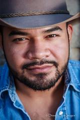 IMG_6757 (DesertHeatImages) Tags: gay arizona phoenix hat cowboy bare chest rico lgbt latino hispanic