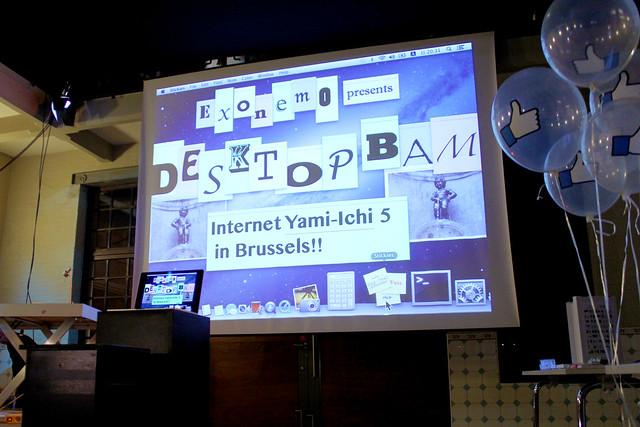 #yamiBrussels - Performance - Exonemo (Desktop BAM) 00 (iMAL.org)