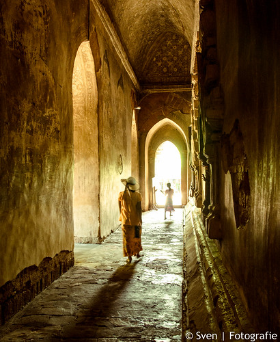 Corridor at Htilo Minlo Temple