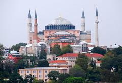 Hagia Sophia, Istanbul, Turkey (petrk747) Tags: voyage city travelling history monument museum architecture turkey minaret muslim istanbul mosque hagiasophia saariysqualitypictures