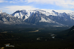 Snowy Mountains (JB by the Sea) Tags: canada rockies alberta banff rockymountains banffnationalpark tunnelmountain canadianrockies september2014