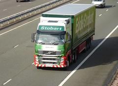 H4911 - KX13 LHR (Cammies Transport Photography) Tags: truck volvo mary lorry eddie fh flyover esl m74 lockerbie kathlyn stobart eddiestobart h4911 kx13lhr