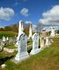 White bronze headstones (Kathleen Mavourneen) Tags: graveyard vermont headstones ascutney whitebronze
