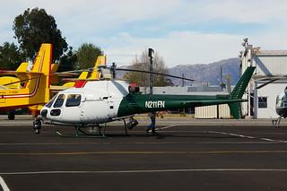 N211FN AS350 Van Nuys 09-03-14