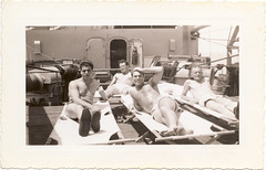 "Fred in WWII: ""What Did You Do in the War, Daddy?"" (Robert Barone) Tags: family vintage wwii guerra fred 1945 sicilia italianamericans secondworldwar fotodepoca italoamericani fredjosephalfredo"