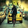 Pedaling  upright in the traffic... (mare_maris (very slow)) Tags: street city morning urban woman blur colors lines bike bicycle yellow youth photoshop photography daylight colorful europe downtown ride traffic image pedaling spokes wheels streetphotography streetscene athens jeunesse bicycles explore greece vehicles exploreinterestingness balance pedals rushhour nikondigital youngwoman fahrrad bicicletas parkedcars vélo onthestreet sykkel bicicletta streetshot urbex standingup unlocked twowheeler yellowtaxi awesomeshot outdooors inthestreets allimages dayshot abigfave ποδήλατο ελλαδα steetview livelearnlove linesofcars eλλαδα drivinginthecity bicyclingenthusiasts cyclingposters nikond5100 september2014 maremaris categoryproject thepedalinggreece bikeuprights thewomanandthebicycle behindthetaxi