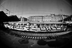 FADE TO GREY (nARCOTO) Tags: paris train graffiti gare saintlazare graff sncf graffitis