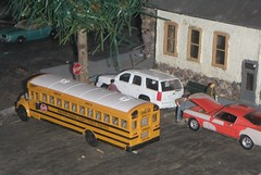 9/30/2014 (THE RANGE PRODUCTIONS) Tags: bus greenlight dioramas diecast hoscale boley 164scale diecastdioramas hoscalefigures