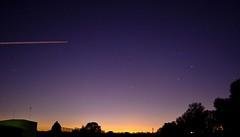 DonnyBrook ~ Night Sky! (2skilledbro) Tags: trees light sunset sky house nature beautiful night stars lights rocks long exposure time australia melbourne planes donnybrook