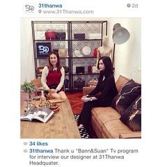 """""""๓๑ ธันวา"""" กระเป๋าหนังหรู ระดับ hi-end แบรนด์คนไทย แต่โด่งดังไกลถึงเมืองนอก   ติดตามชมได้ ในรายการ บ้านและสวน (รูปแบบใหม่) ช่วง """"Design Update"""" เร็วๆนี้ ทุกวันอาทิตย์ เวลา 11.00 น. ทางช่อง Amarin TV HD 34 #31thanwa #bag #leather #thaidesigner #thailand #h"""