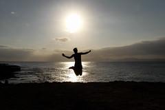 jump (SpotShot) Tags: sea sun ex against canon eos jump jumping meer sigma 7d 20mm 20 f18 sprung spanien dg gegenlicht springen sonnen sigma20mmf18 balearischeinseln canoneos7d urbanitzaciobetlem