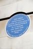 Blue plaque marking the house where the first anaesthetic in England was administered, Bonham Carter House, Gower Street, London (Roberto Herrett) Tags: blue england london vertical plaque first anaesthetic stockphoto gowerstreet administered bonhamcarterhouse rherrettflk