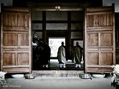 Gongyo (Mitsu-chan) Tags: temple buddha pray cellphone smartphone fukuoka hakata  japanesetemple   gongyo  galaxys3 galaxys jyotenji