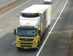 YC60 LMK (Cammies Transport Photography) Tags: truck volvo lorry fm supermarkets morrisons flyover m74 lockerbie yc60lmk