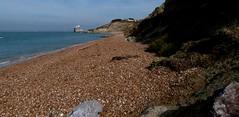 The beach north of Brambles Chine (BOB@ wootton) Tags: beach fort albert isleofwight isle brambles wight chine iow